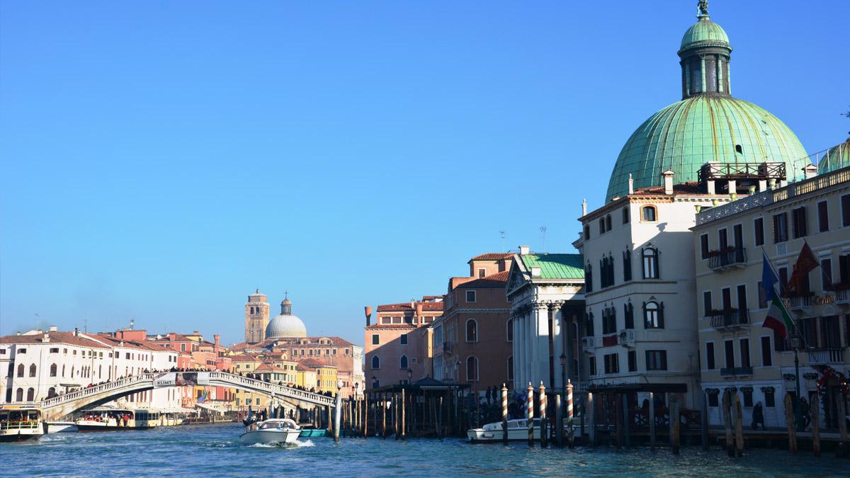 На яхте в Венецию
