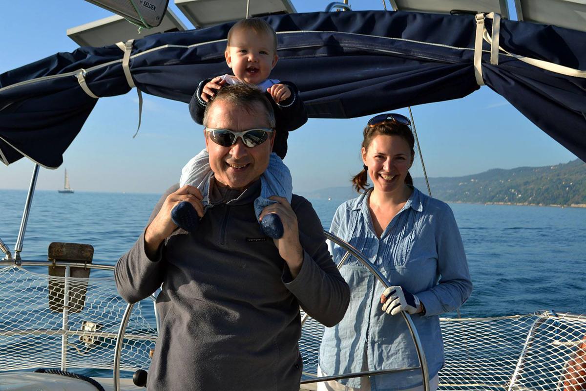 Детская яхтенная флотилия в Турции