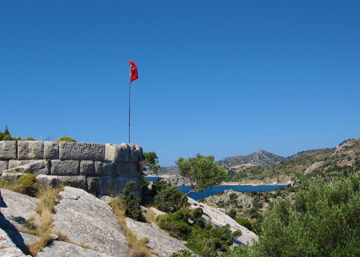 Бузук Кале, Турция