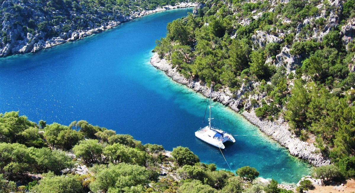 Яхтинг в Турции. Заливы и бухты