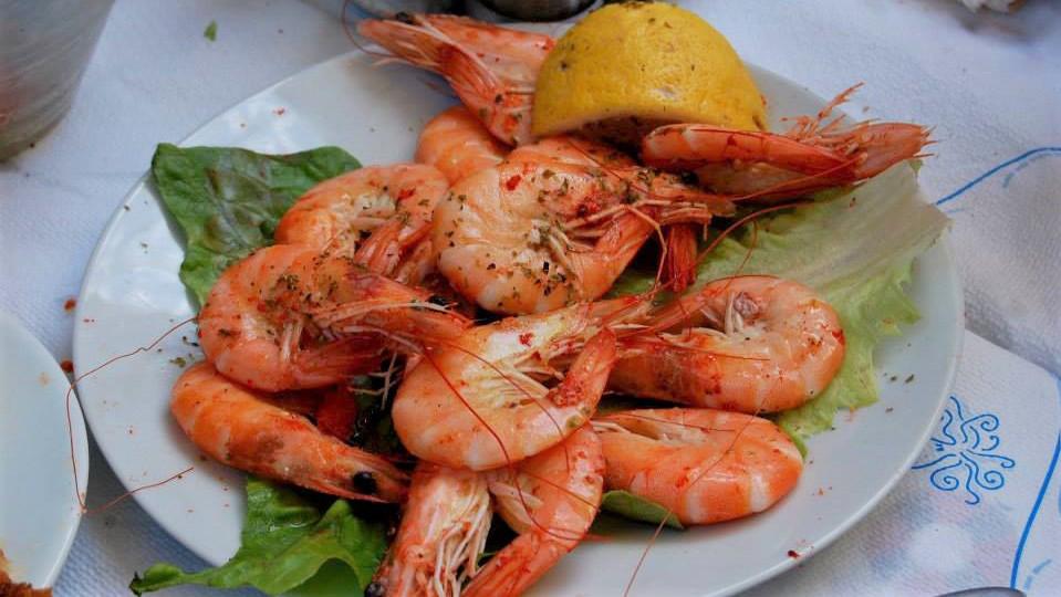 Греческие морепродукты