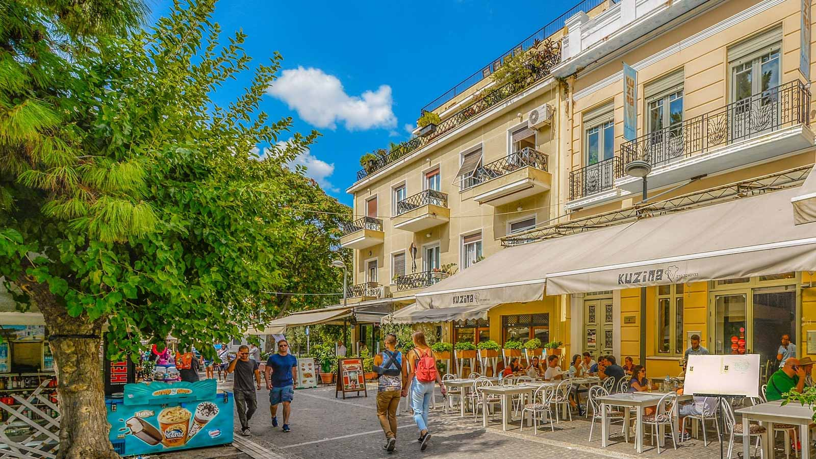 Прогулка по Афинам