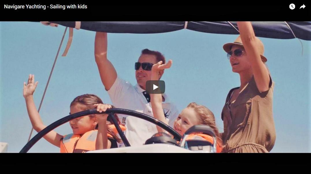 """Видео """"Яхтинг с детьми"""""""